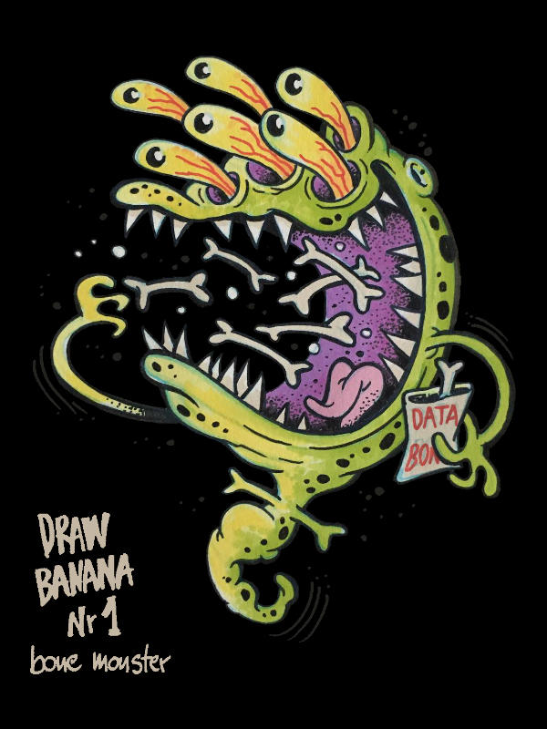 Draw Banana n1