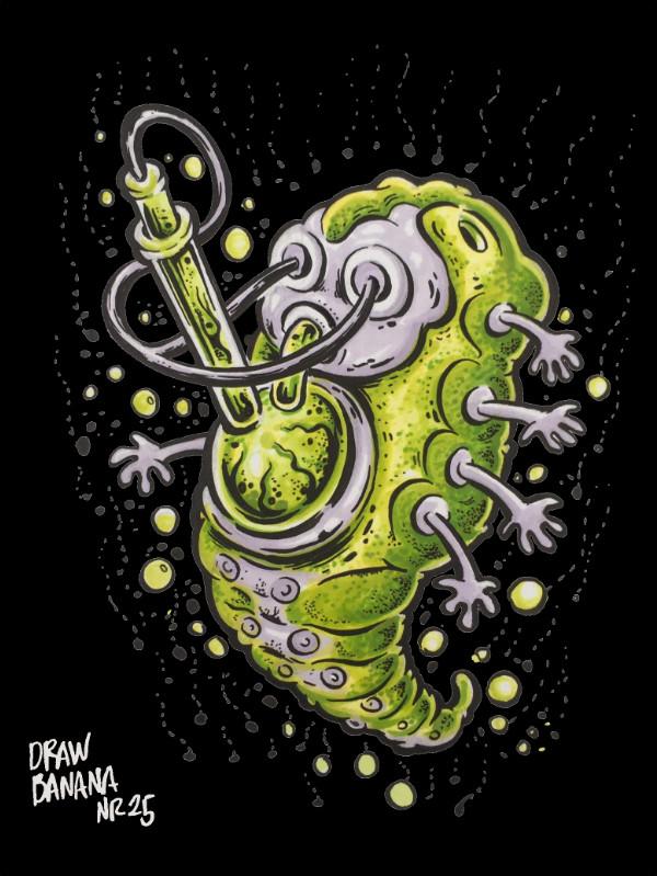 Draw Banana 25 Biomechanical Cosmik Havik